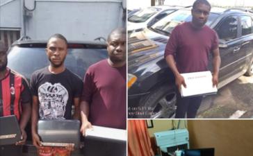 Cyber criminals arrested in benin