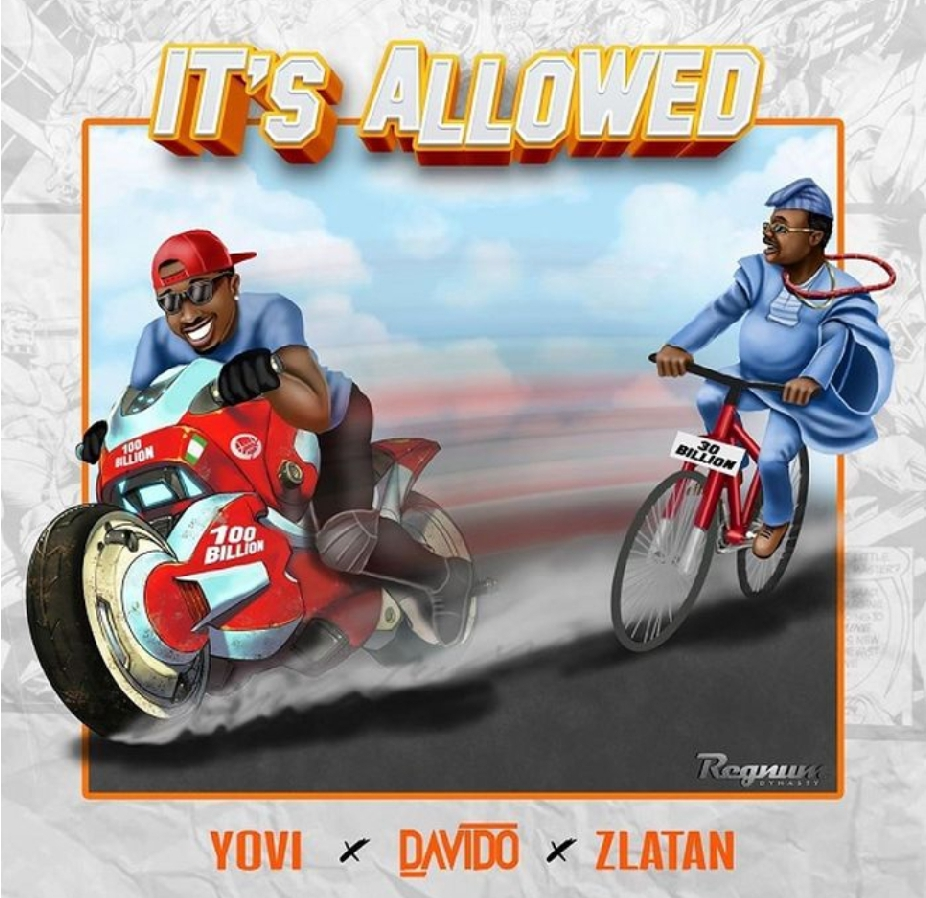 Yovi x davido x zlatan - its allowed