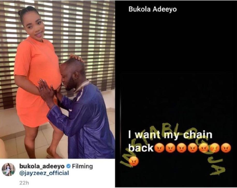 Actress bukola adeeyo 600k chain stolen