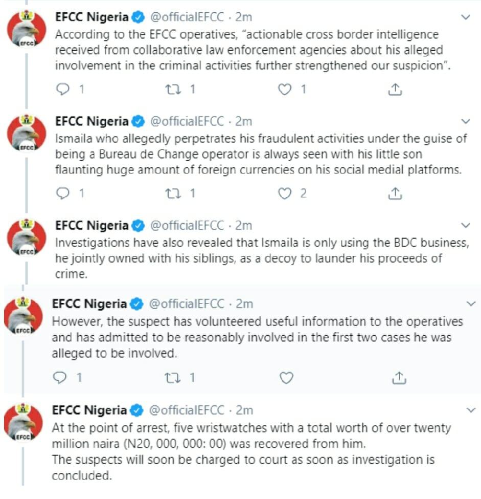 Efcc confirms mopha arrest