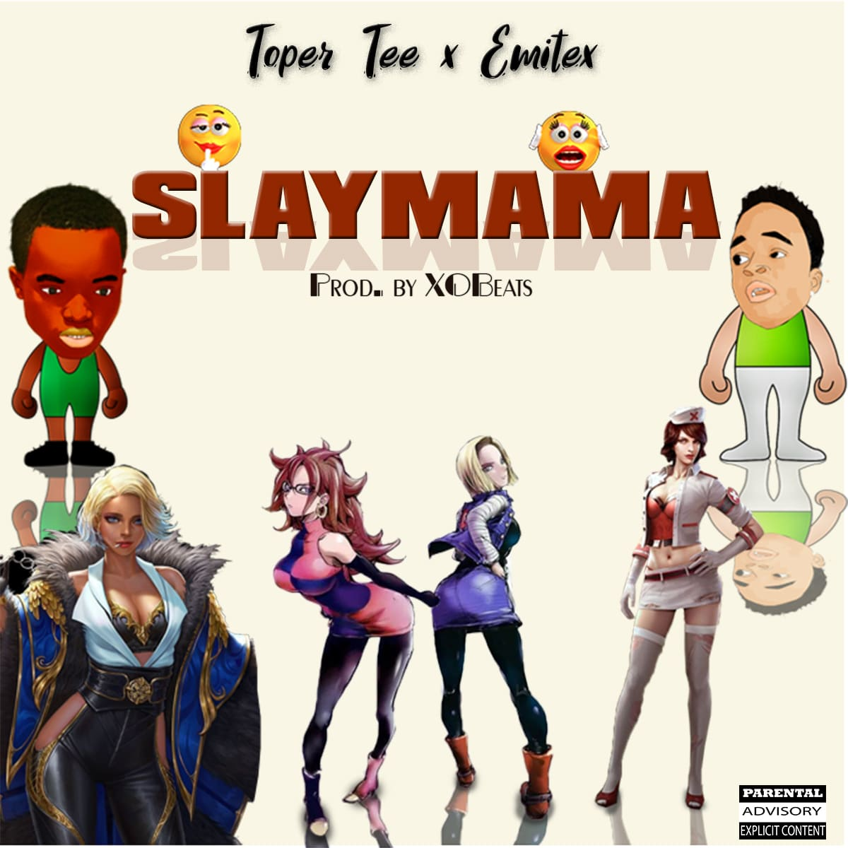 Toper tee slay mama